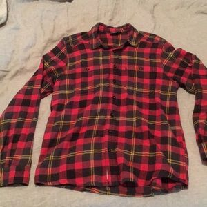 Kavu Long Sleeve Flannel Shirt